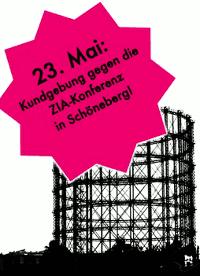 Gegen die Immobilienkonferenz am 23.05.2012 im Gasometer/Berlin-Schöneberg!